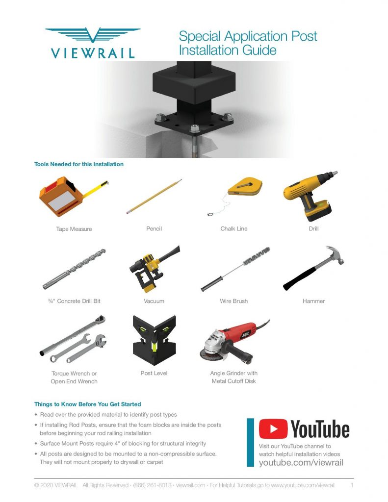 Special Application Mount Post Installation Instructions V2-page-001