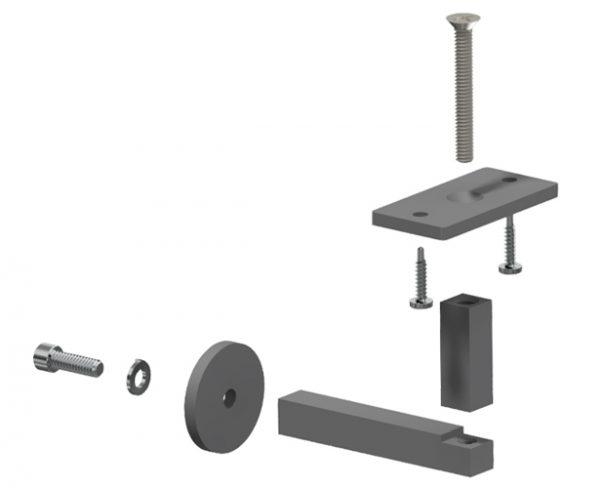 Steel Grab Rail Bracket Vr454