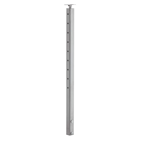 Slim Side Mount Cable Railing Post