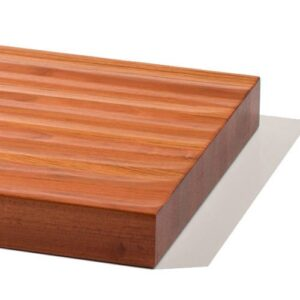 1 3/4″ Thick Hand Scraped Stair Treads Detail