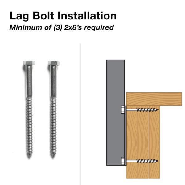 Lag Bolt Installation