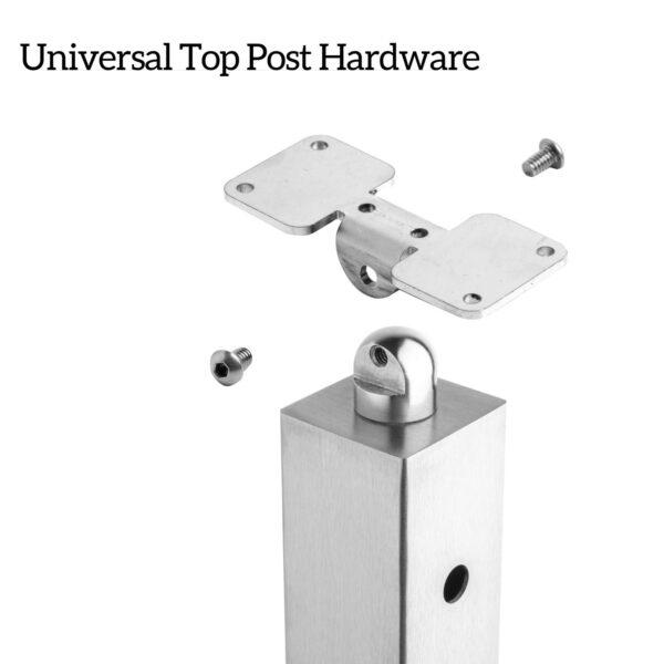 Universal Top Post Hardware