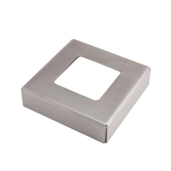 Cable Rail Foot Cover Plate
