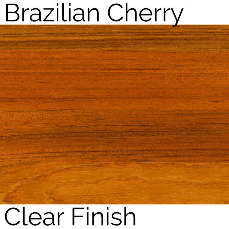 Brazilian Cherry Clear Finish