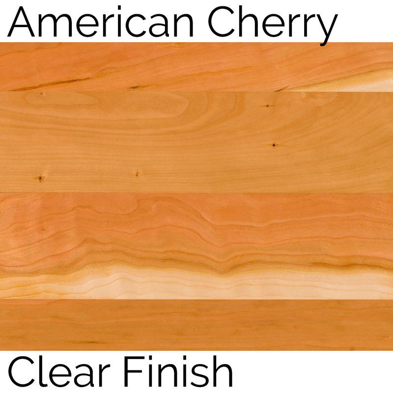American Cherry Clear Finish