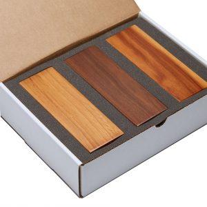 Wood Sample Box