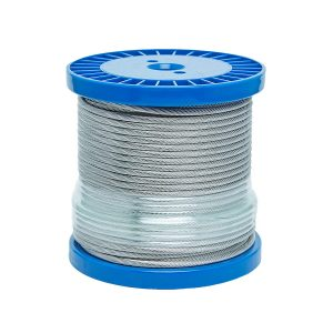 400 foot spool of 5/32 inch stainless steel cable
