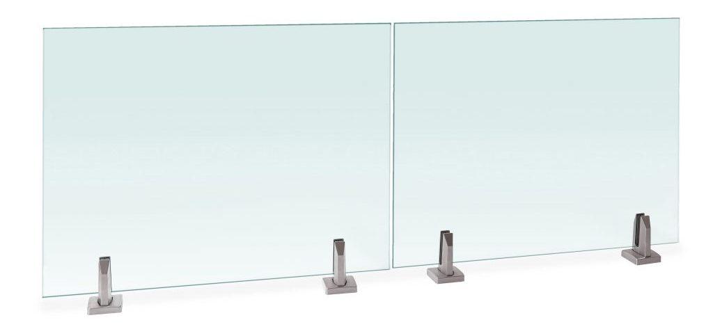 Glass railing system talon spigots