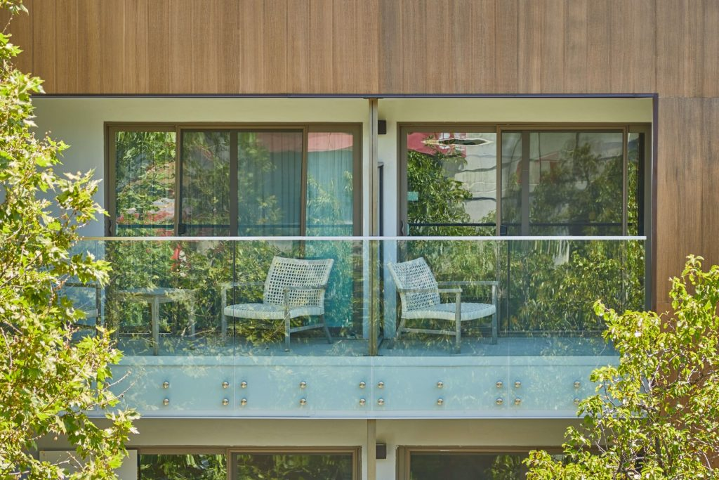 Exterior Balcony Glass Standoff Pin