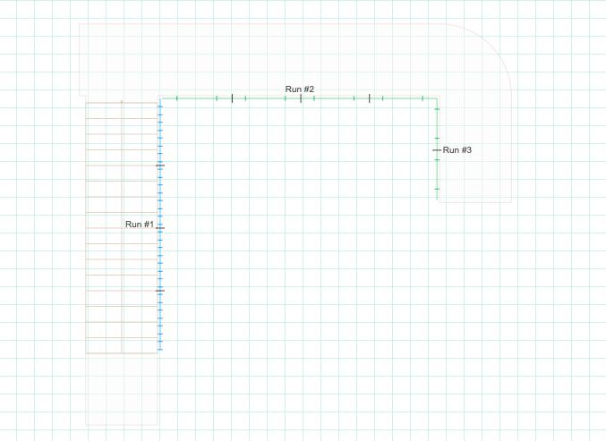 Glass Standoff Pin 2D Drawing