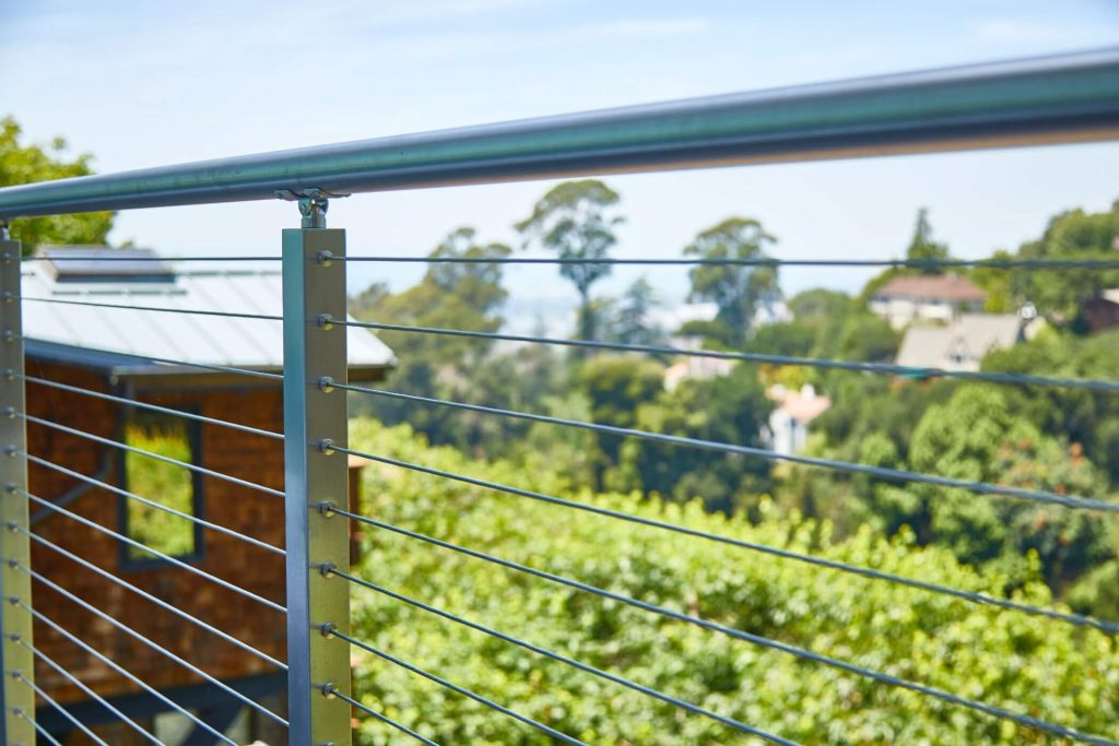 Close Up of Cable Railing