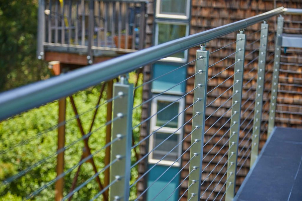 Cable Railing with Posts