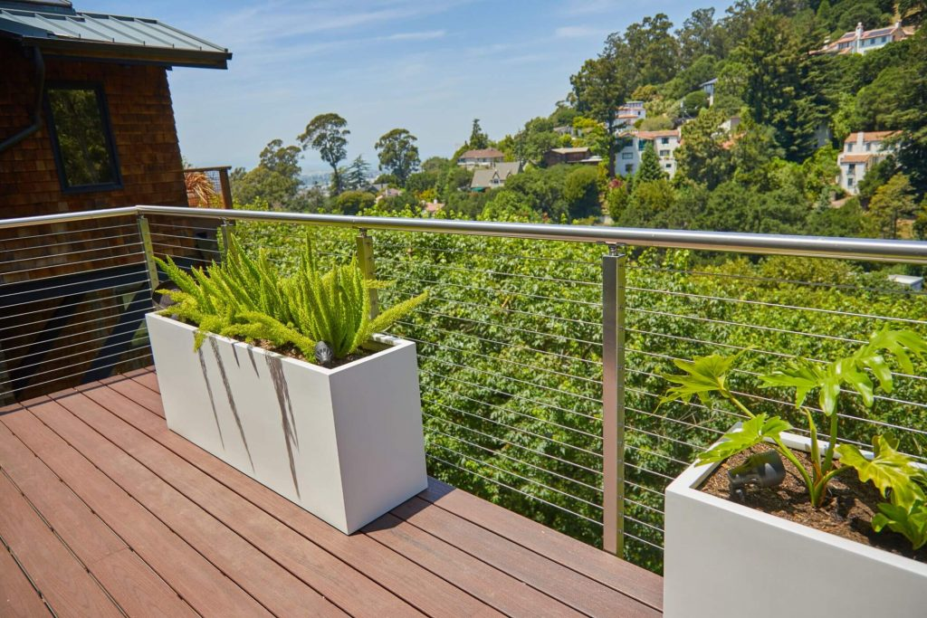 Cable Railing System for Outdoor Balcony