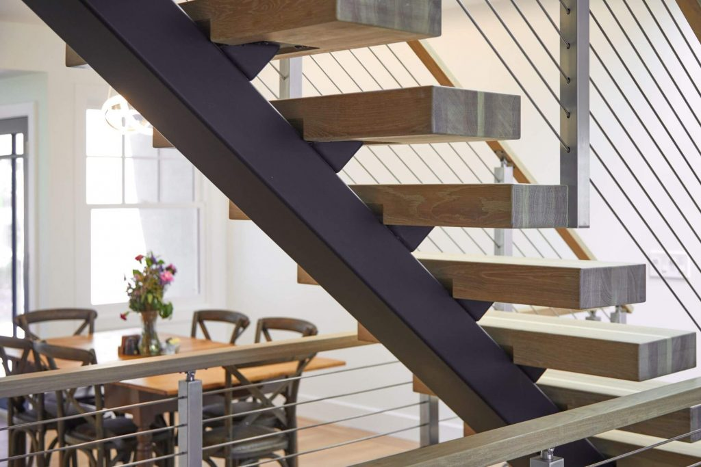 Mono Stringer for Floating Stairs