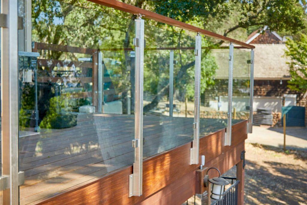 Glass Railing for Deck