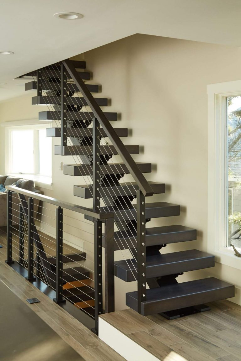 Floating Stairs and treads