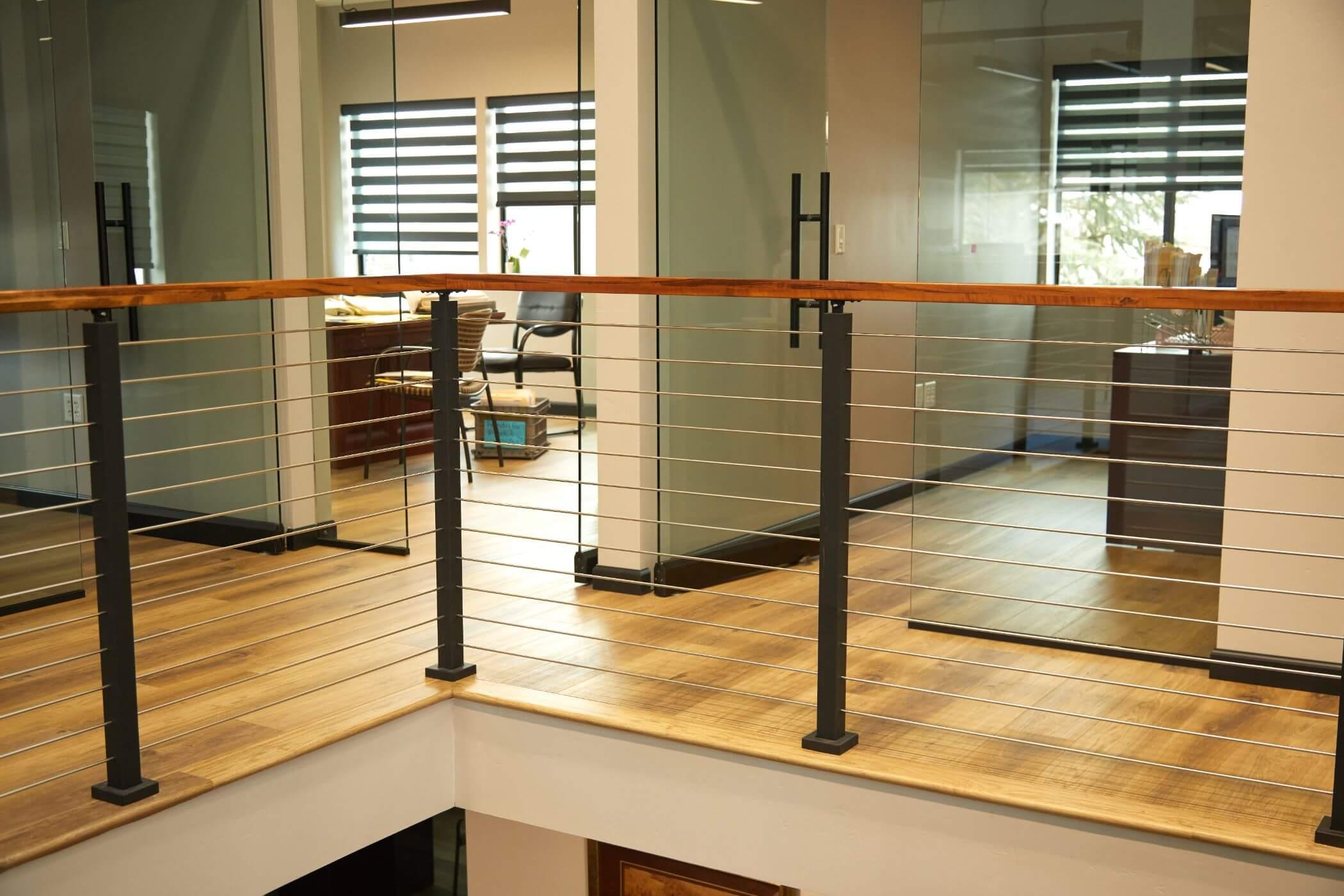 Upper Balcony Rod Railing