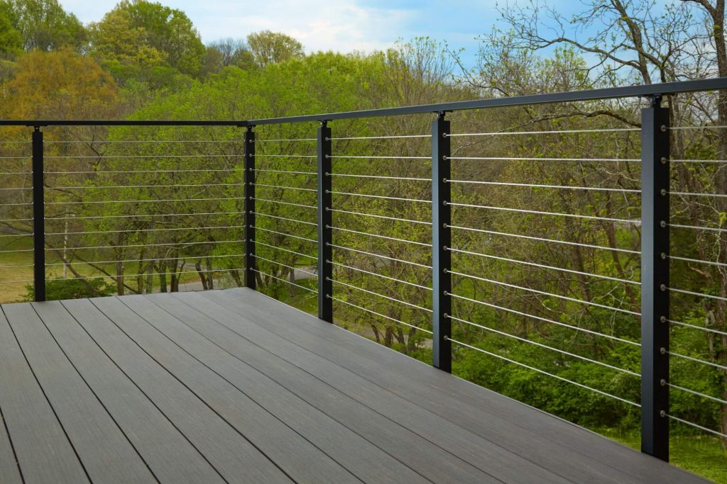 Deck with Side Mount Posts