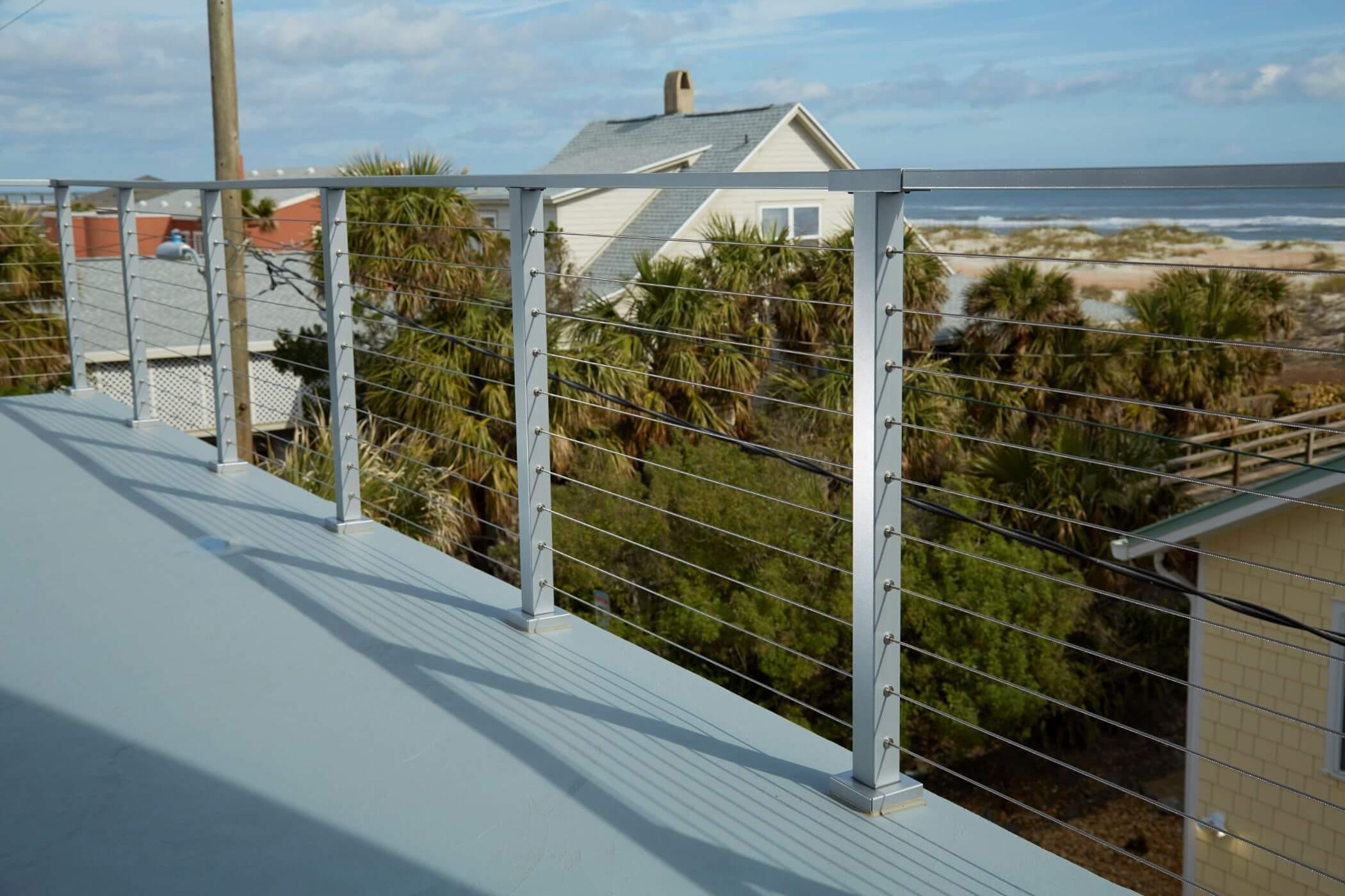 deck railing posts