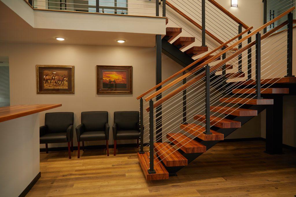 u stair in office