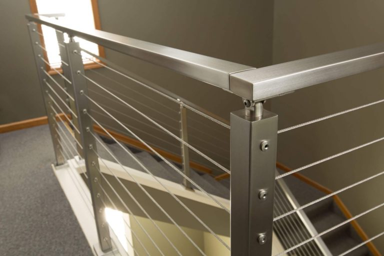 Cable Railing Post with Universal Top