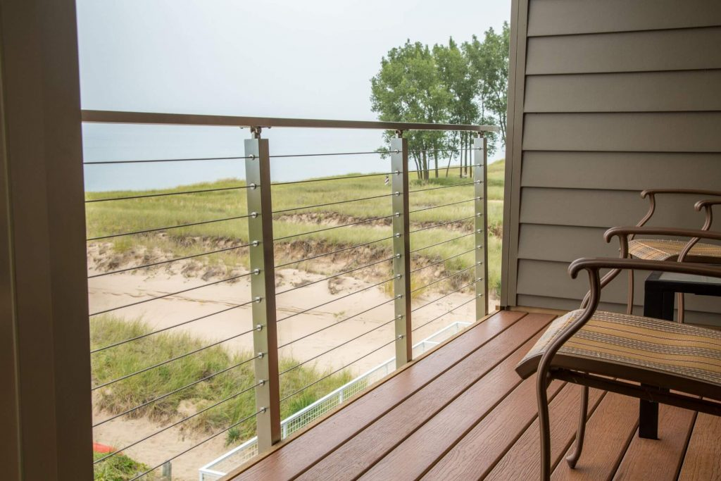 Stainless Steel Side Mount Railing