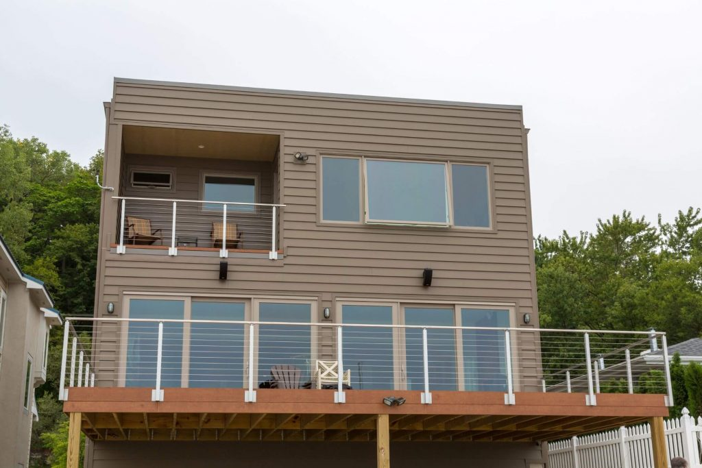 Cable Railing for Deck and Balcony