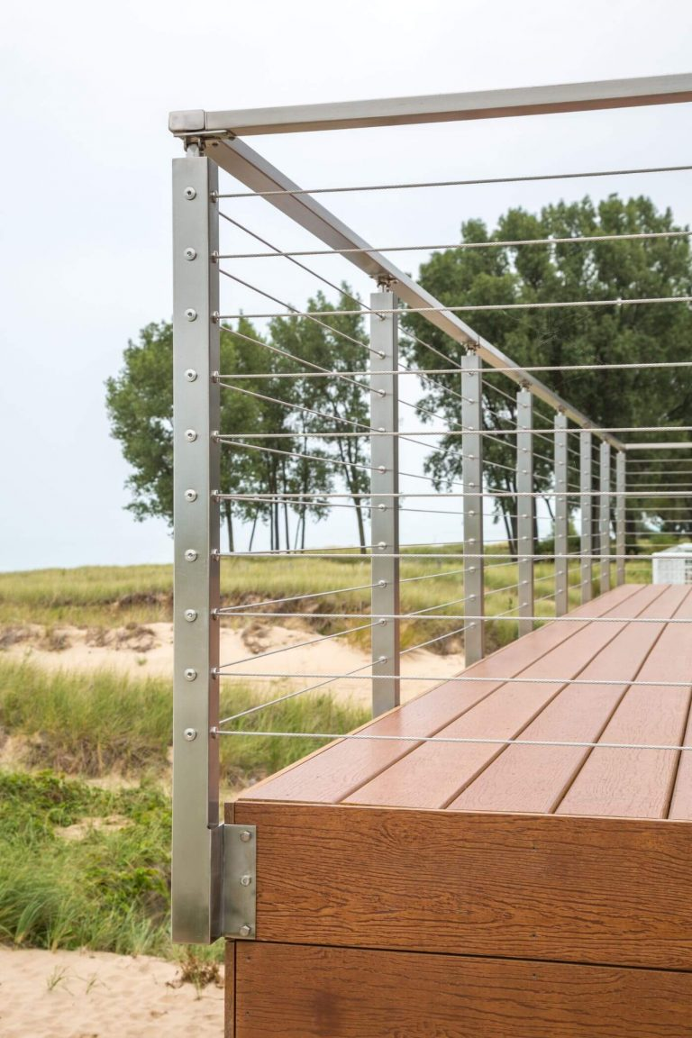 Cable Railing Side Mount System