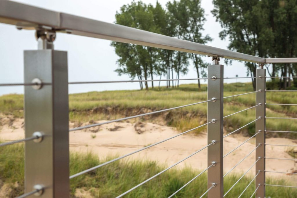 Cable Railing Post System