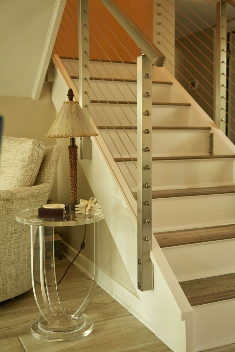 Indoor Stairs Rod Railing System