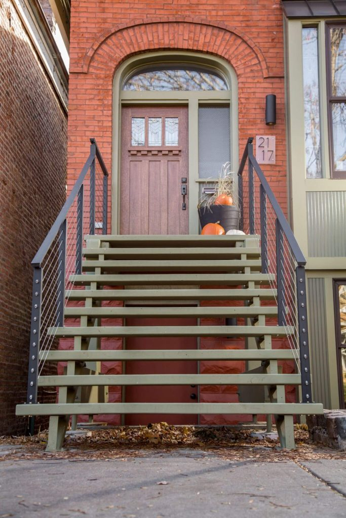 Cable Railing Entryway