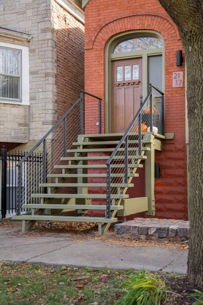 Cable Railing System with Black Powder Coat