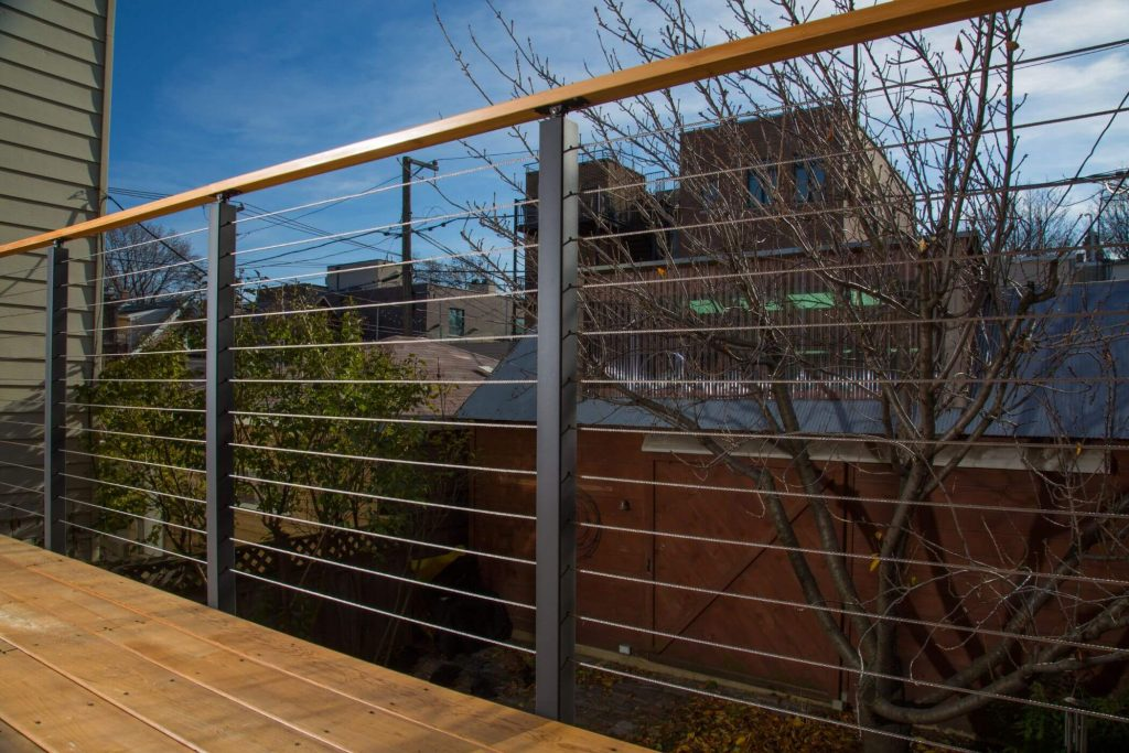 Cable Railing for Outdoor Deck