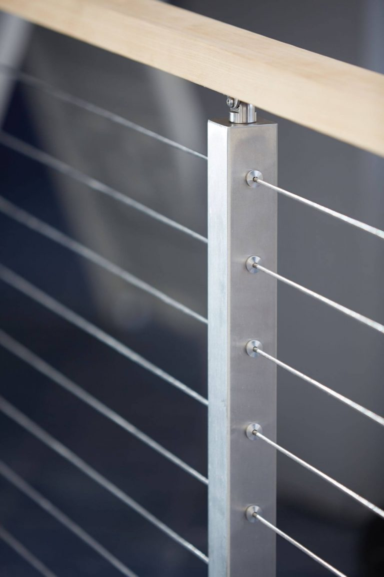 Stainless Steel Rod Railing Post