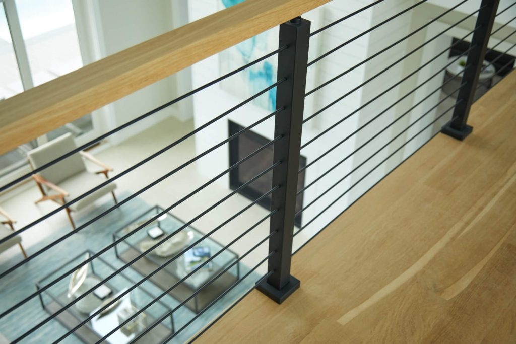 Onyx Rod Railing for Indoors