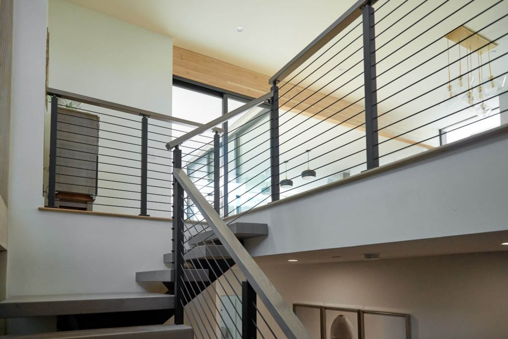 Rod Railing for Stairs