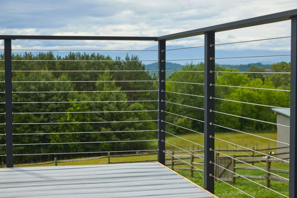 Modern Farmhouse Cable Railing