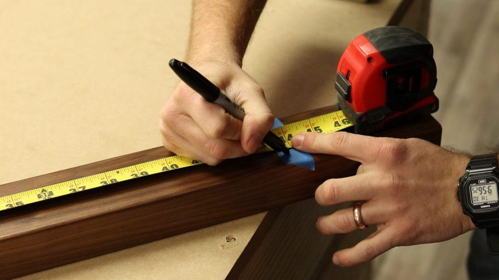 Measuring Handrail