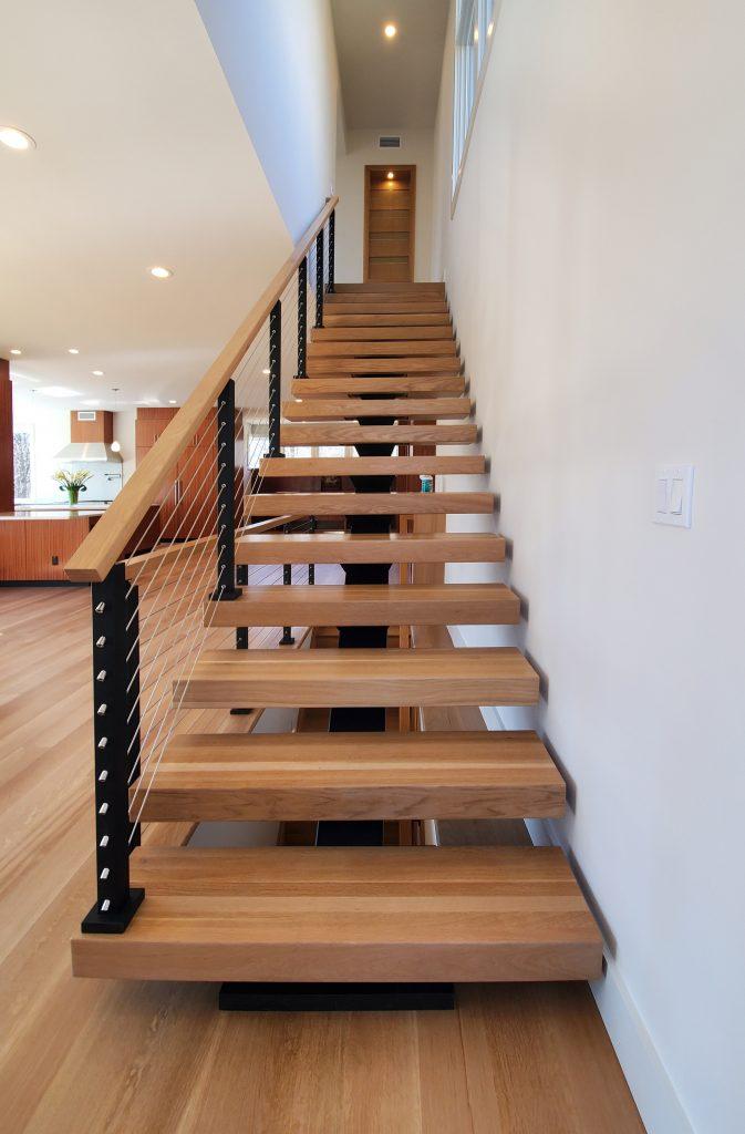 Viewrail FLIGHT Princeton Staircase Straight On