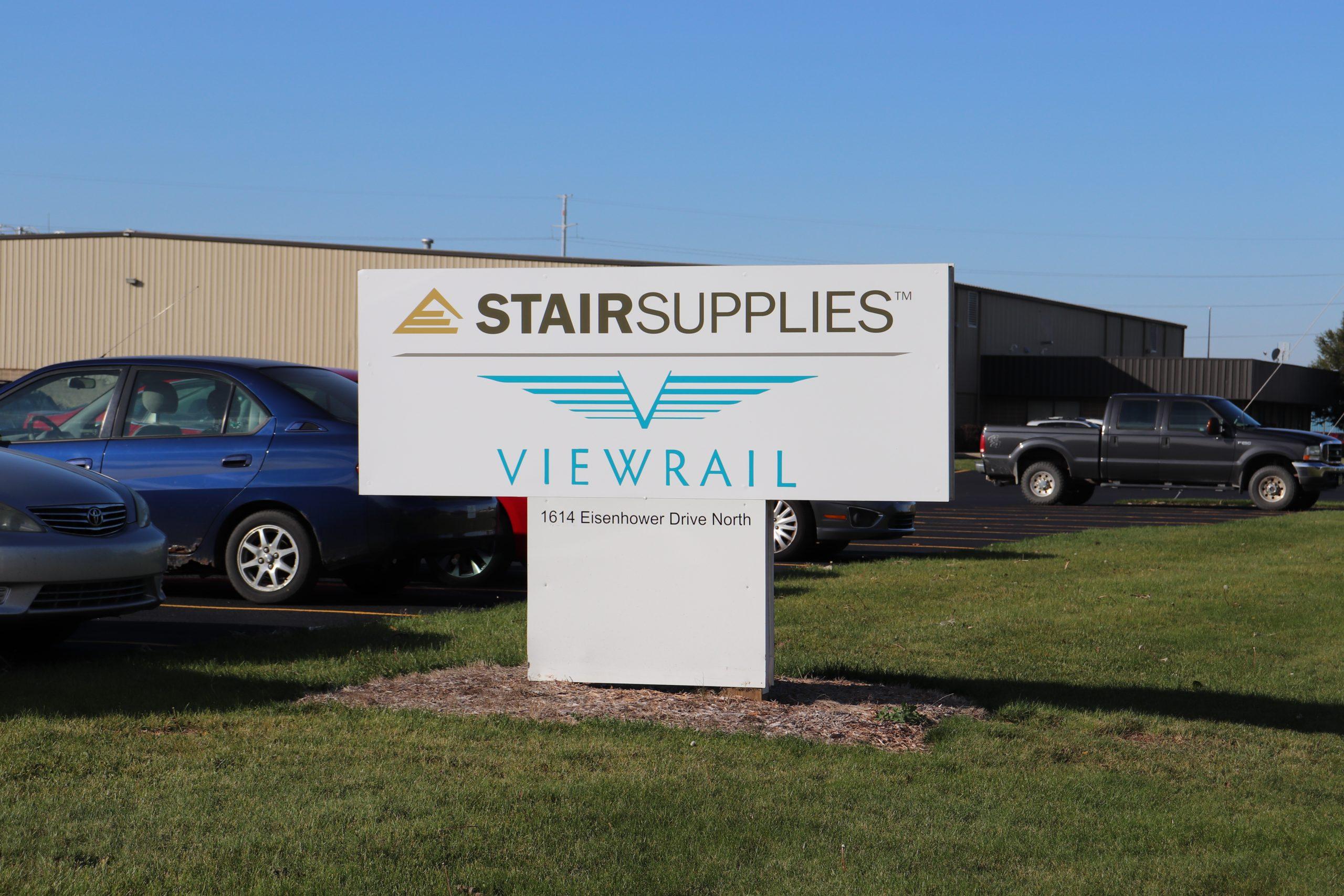 Viewrail Sign